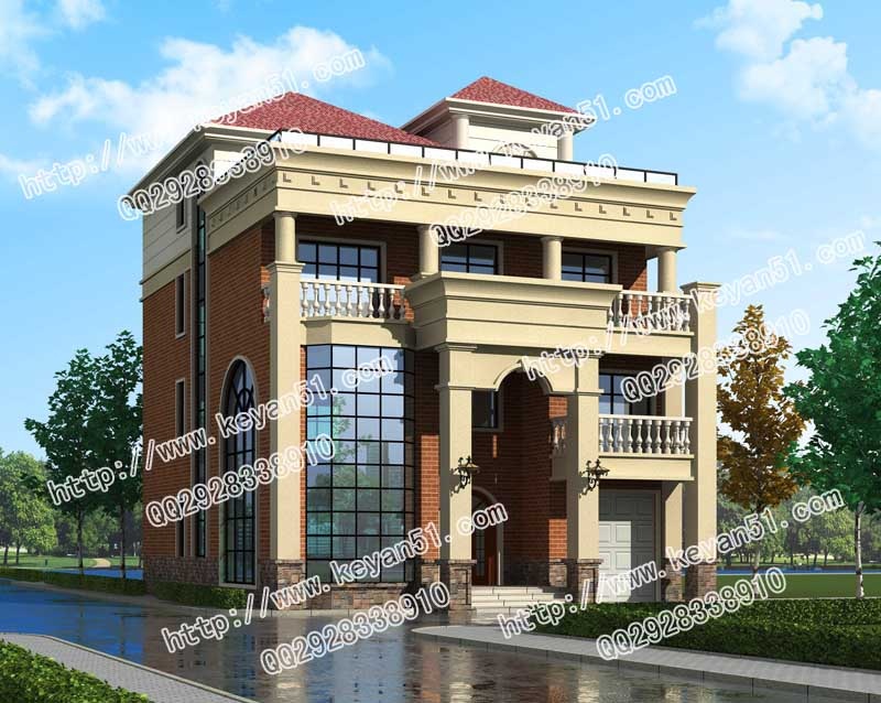 基础15ma基础复古四层别墅自建进深设计图纸试卷设计与机械2016年农村图片