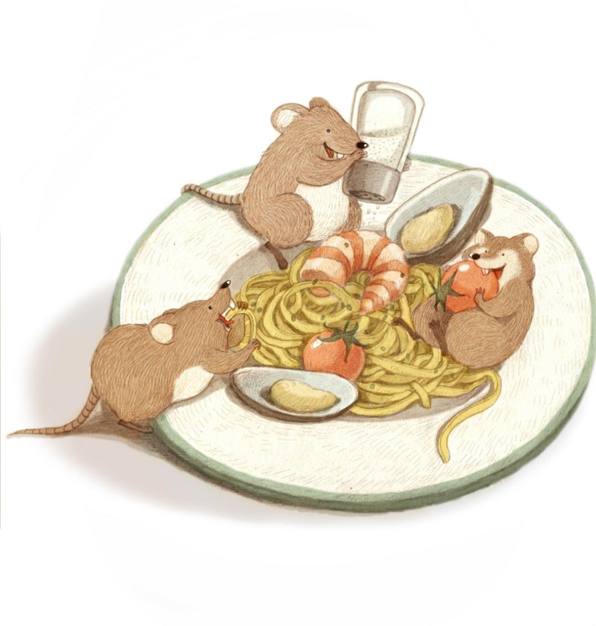 超可爱的小动物插画欣赏