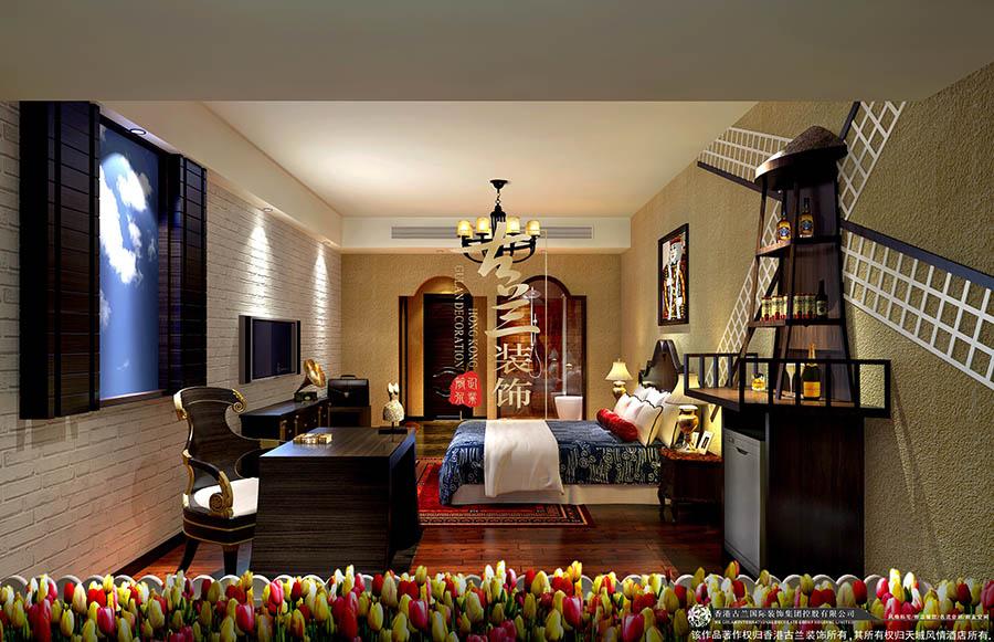 项目名称:天域风情主题酒店(四川省成都市武侯区佳灵路20号九峰国际C座1层 ) 设计说明:天域风情酒店是一家集世界各国文化特色和特点为设计核心的主题酒店,设计中融合了全球20个国家的典型设计元素,并以此作为房型设计的基础点,同时结合酒店本身所处的地理位置,打造成了一个当地独具特色的主题酒店 宜宾主题酒店天域风情-宜宾专业特色主题酒店装修设计公司宜宾主题酒店设计公司宜宾主题酒店装修公司-古兰装饰