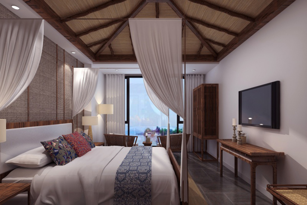 广东酒店设计公司 广东酒店设计 九里山色精品酒店