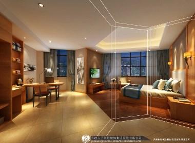 《绵阳市锦途城市春天酒店》成都专业精品酒店设计之选用灯饰原则