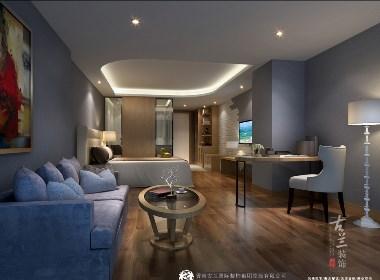 《爱琴海主题酒店(商务层)》古兰装饰原创设计|成都专业精品酒店设计公司