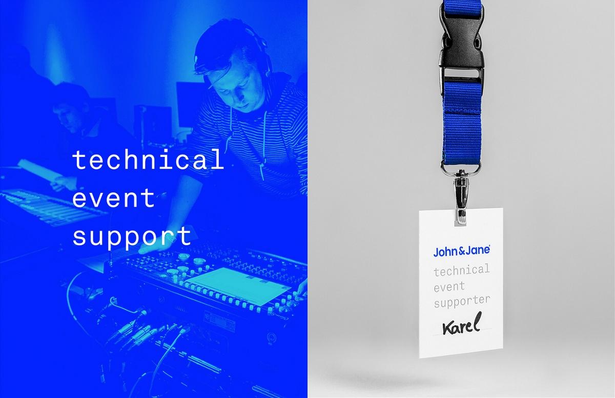 John&Jane团队目标零件系VI视觉设计轴类蓝色加工品牌设计工艺图片