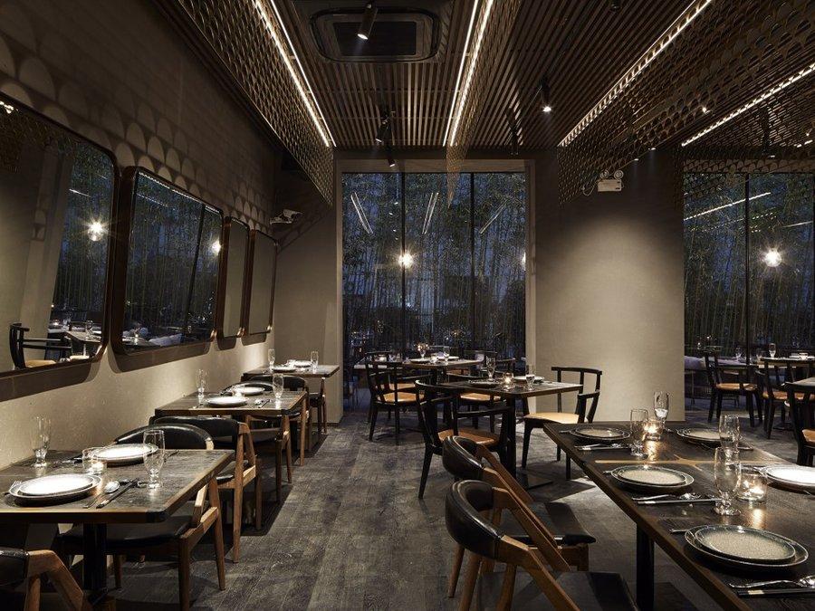 福泉专业花园特色餐厅装修设计 福泉设计书电路板图片