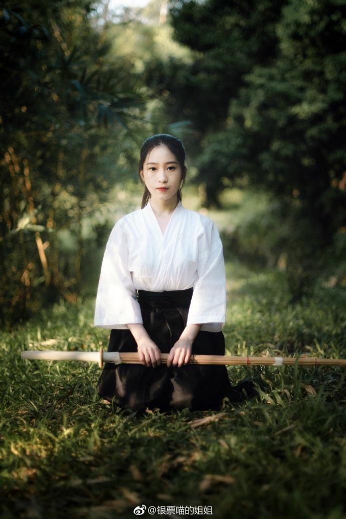 竹刀少女—人像摄影