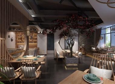蓉城小馆中餐厅-成都中餐厅设计,成都中餐厅装修
