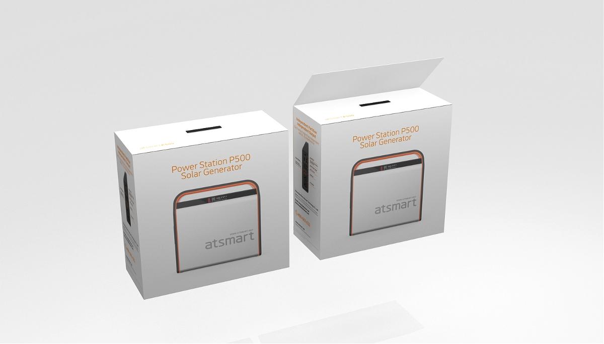 储能箱产品包装设计,科技产品包装设计,深圳包装设计公司