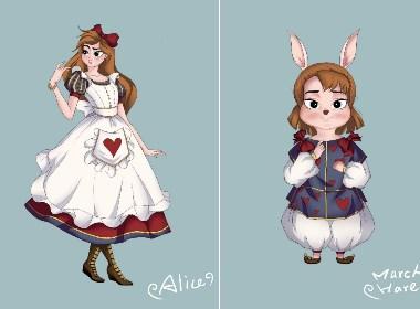 爱丽丝和三月兔