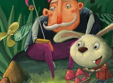 黑夜小丑和兔子