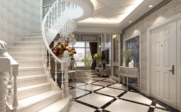 温哥华山庄400平欧式风格别墅装修效果图欣赏
