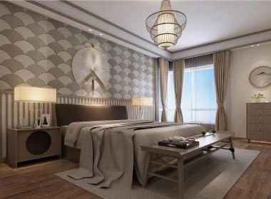 东润泰和260平日式风格四室两厅装修样板间欣赏