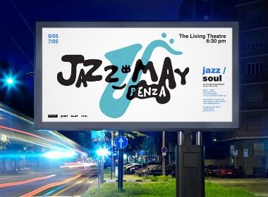 Jazz fest爵士音乐节视觉设计