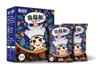 苗菇娘香菇脆品牌视觉设计