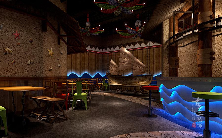 west bay海鲜餐厅-威武专业特色海鲜餐厅装修设计公司