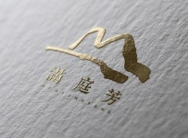 满庭芳传统风格茶室品牌视觉设计 | 摩尼视觉原创