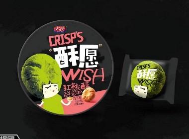广东文里杨国设计——'酥愿'手工桃酥