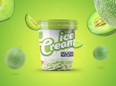 Dairytalk Ice Cream冰淇淋新品包装设计 | 摩尼视觉原创作品
