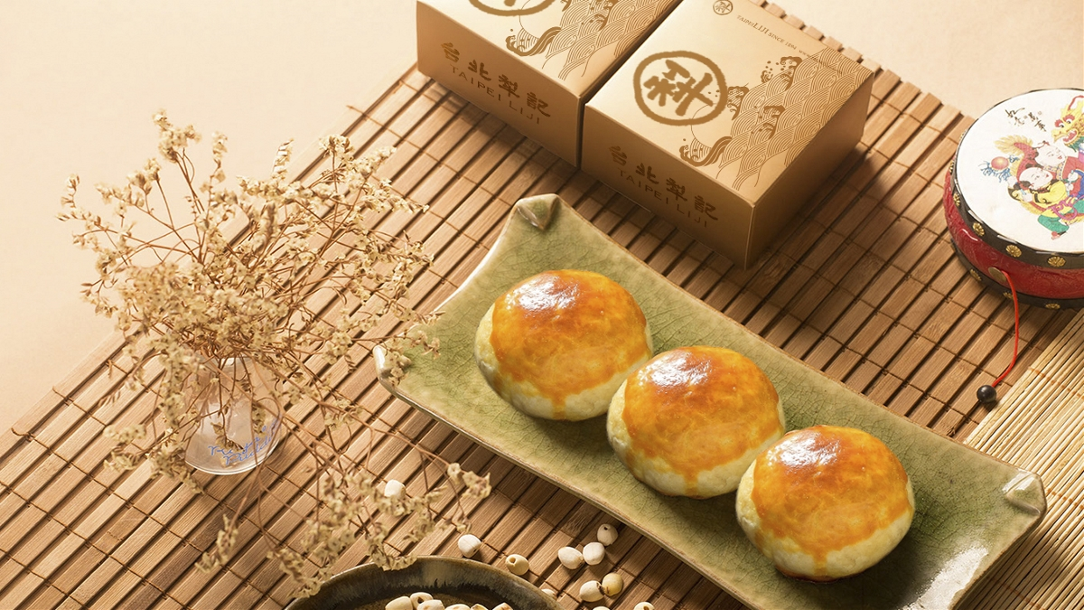 百年品牌台北犂记月饼包装设计【皓月吉祥系列】 | 摩尼视觉原创作品