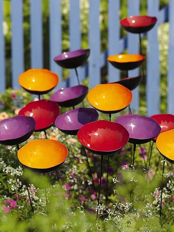 庭院设计|庭院里的创意小景观