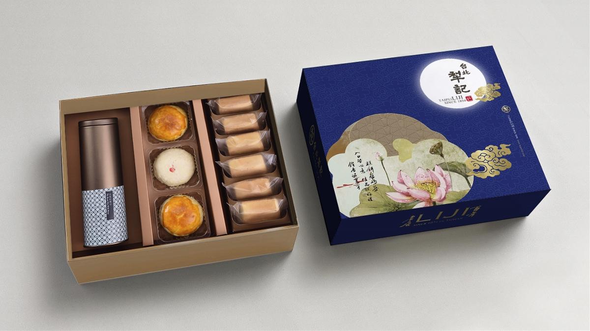 百年品牌台北犂记月饼包装设计 【星悦秋蝉系列】 | 摩尼视觉原创作品