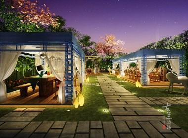 桂林花园餐厅设计公司_桂林餐厅设计装修公司_桂林餐厅设计公司