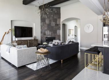 折衷主义的现代住宅-- Contour室内设计