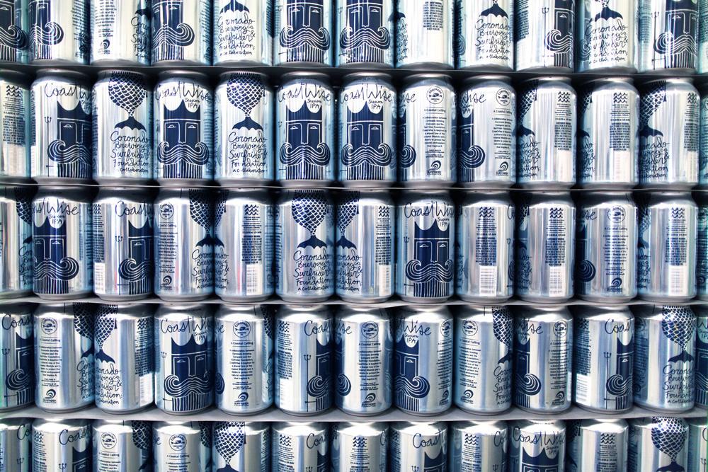 CoastWise Session IPA 啤酒公司品牌包装设计 