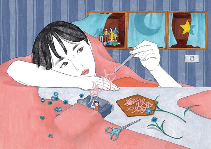 台北插画师ViviChen笔下生动的插画作品赏 