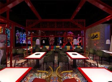 嗨捞牛排海鲜自助-青岛自助餐厅设计|青岛山东餐厅设计公司|青岛自助餐厅设计公司|青岛海鲜自助餐厅设计公司