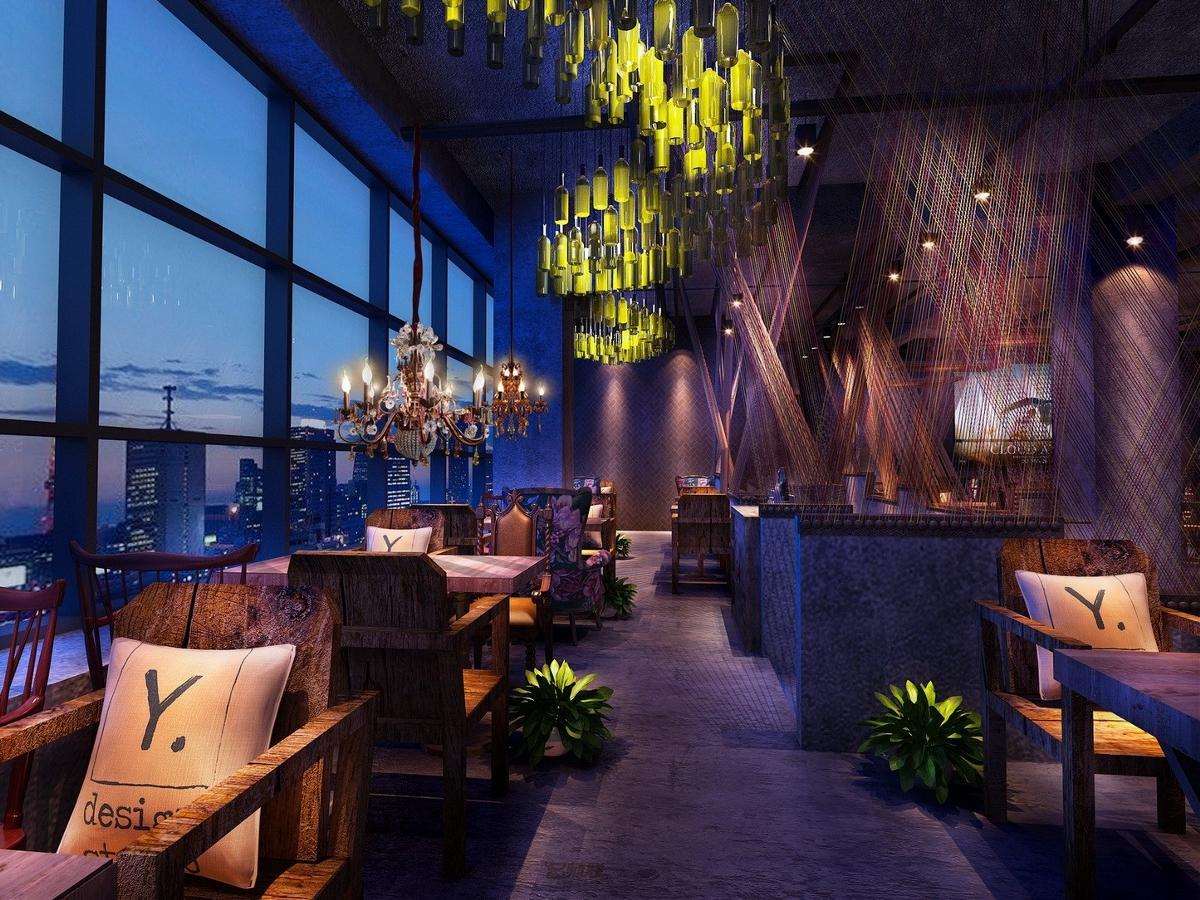 天津彩虹烧烤-吉林餐厅设计|长春餐厅设计公司|吉林餐厅装修|吉林工业