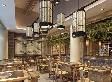温江中餐厅设计-中餐厅装修