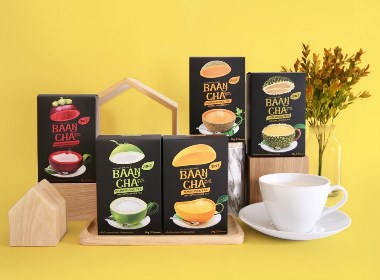 Baancha House of Tea品牌包装设计 | 摩尼视觉分享