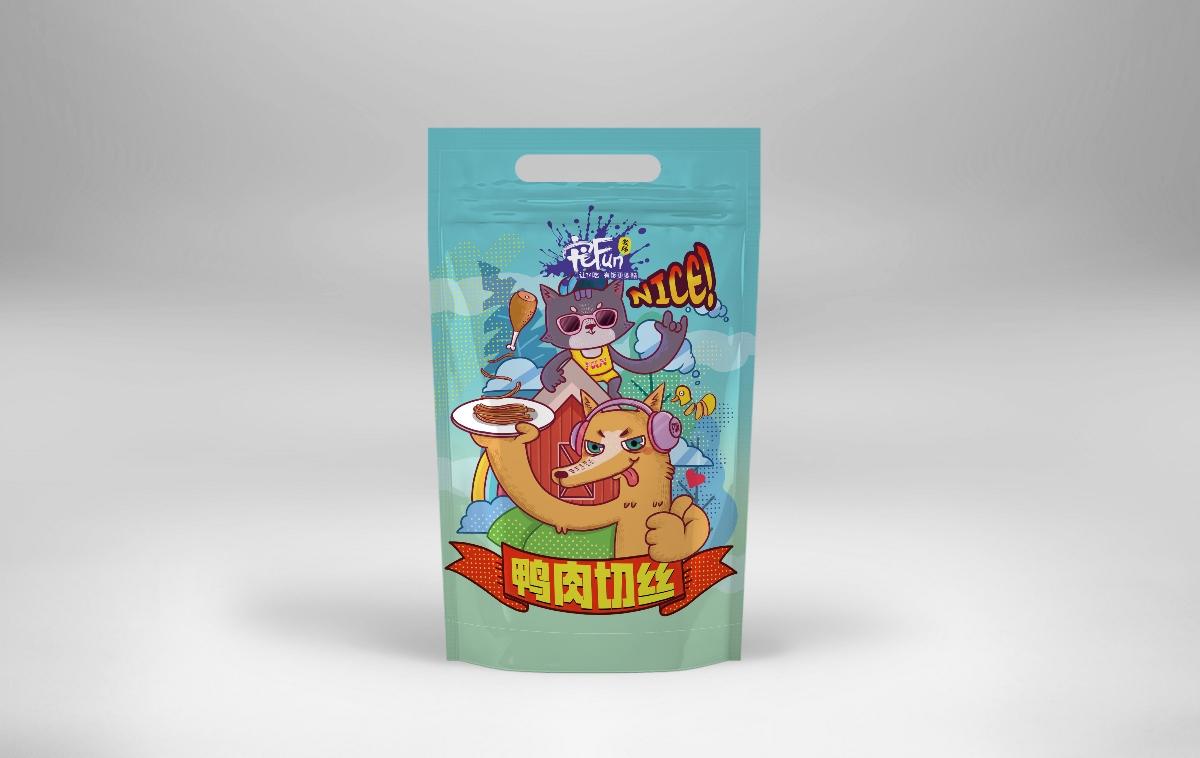 宠物食物包装设计 食物包装 宠物 肉制品  宠物食品