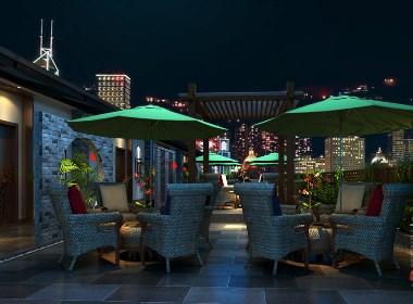 爱润港海鲜餐厅设计-成都海鲜餐厅设计|成都专业海鲜餐厅设计公司