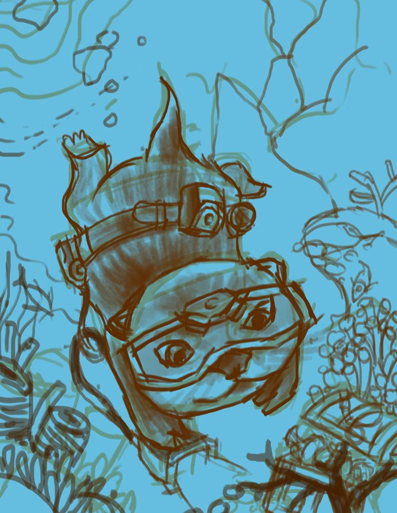 小水獭历险记