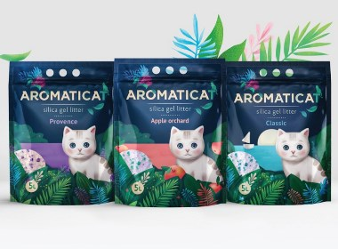 Aromaticat 宠物用品猫砂  | 摩尼视觉