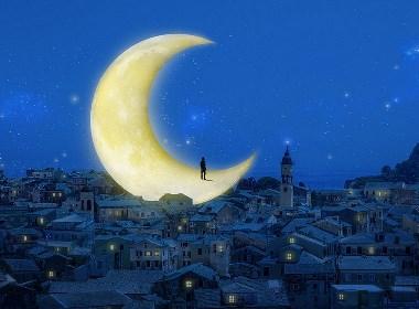晚安城市插画欣赏
