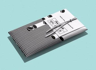洛基山巧克力包装设计