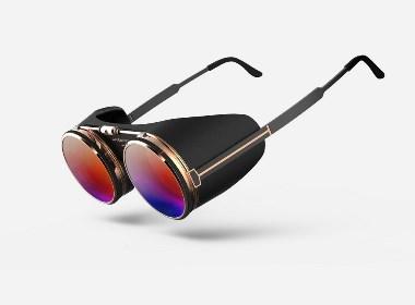朋克眼镜产品设计