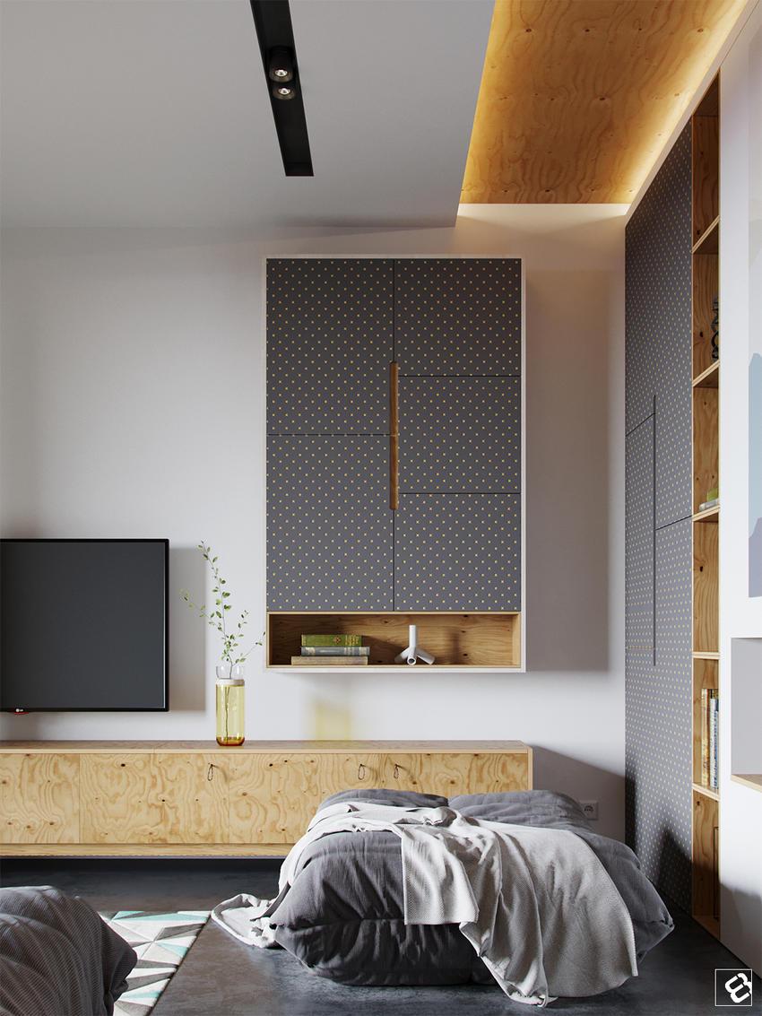 现代室内效果图