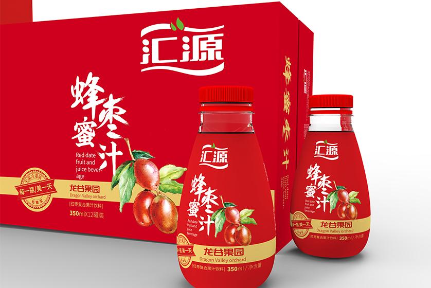 汇源果汁包装 蜂蜜枣汁包装 饮品包装 果汁包装