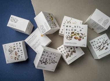 Whistle Blower Tea Co茶包裝設計 | 摩尼視覺分享