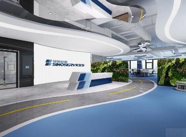 生物科技办公室设计方案