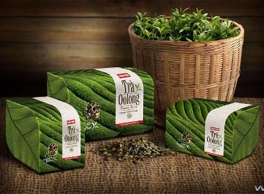 Cau Tre Oolong Tea茶包裝設計 | 摩尼視覺分享