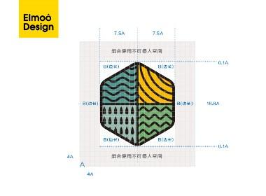 安心德大米标志LOGO优化设计