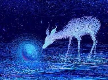 格调彩绘分享 视觉插画丨画圈圈的大神