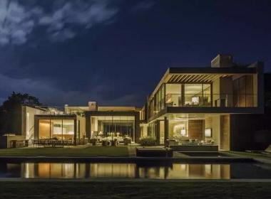 他只设计豪华别墅,没有张扬的奢华只有低调的安静