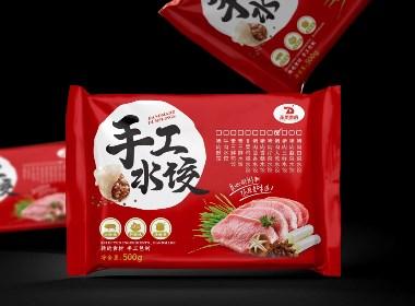 April作品「 手工水饺 」水饺包装设计
