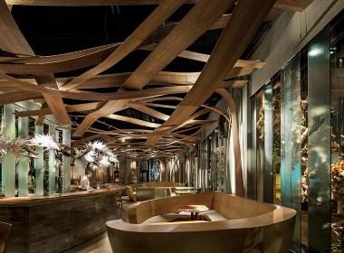 流光都市西餐厅——西昌西餐厅设计|西昌西餐厅装修公司|古兰装饰