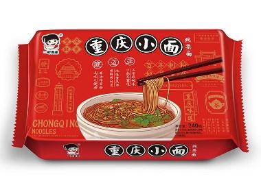 深圳一町食品-重庆小面包装策划设计
